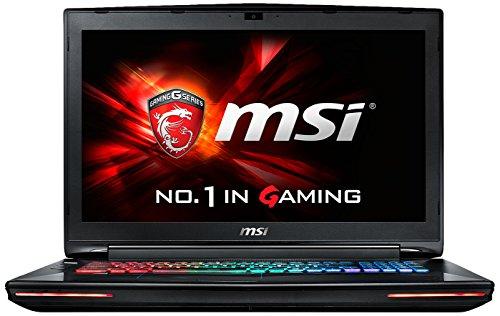 "MSI Gaming GT72S 6QE Dominator Pro G Portatile, 2.6GHz, i7-6700HQ, 17.3"", 1920 x 1080 Pixels, Nero [Germania]"