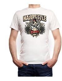 Hardstyle is my Style Frau Gashead T-Shirt weiß