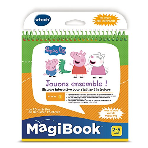 VTech Magibook-Peppa Pig, 480405 VTech