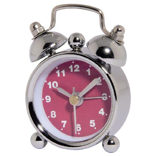 Hama 113927 Rosa, Plata - Despertador Rosa, Plata