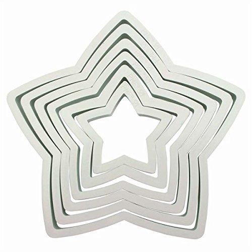 PME Plastic Cutter Star 6/Set (Cutter Star)