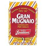 Gran Mugnaio - Farina, di grano tenero, consigliata per dolci - 1000 g
