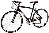 Vilano Tuono Performance Hybrid Flat Bar Commuter Road Bike (700c, 21 Speed Shimano) - 50 cm