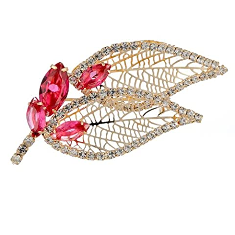 Janeo Brooches & Pins 14 carats (585/1000) Rouge sur de l'or 14 ct