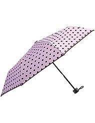Cuby Regenschirm, taschenschirm auf zu automatik, sturmsicher wasserabweisende, Mini, Leicht & Kompa