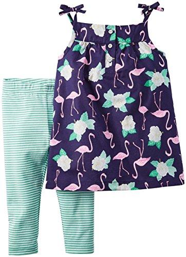 carters-bebe-ninas-flamingo-flower-pantalones-de