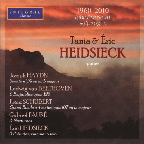 Tania & Eric Heidsieck play Haydn, Beethoven, Schubert, Fauré & Heidsieck.