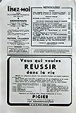LISEZ MOI N? 18 du 01-04-1954 SOMMAIRE - ROMANS - CELA S+?APPELLE L'AURORE PAR...