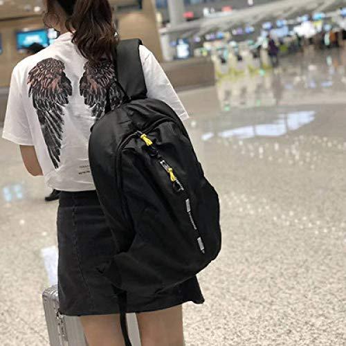 Rucksack Weibliche Han Chao Marke Wasserdichte Große Kapazität Reise Fitness Outdoor Rucksack Männlichen Studenten Tasche Computer Tasche 1 31 * 47 * 14 Cm