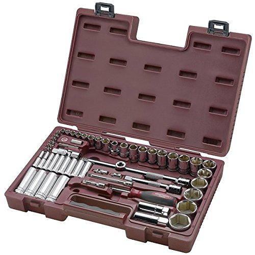 Kraftwerk 6031.2 57-teilig Steckschlüssel koffer modulo 1/4 Zoll +1/2 Zoll