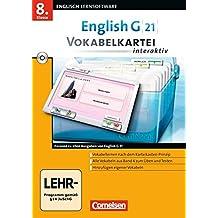 English G 21 Vokabelkartei interaktiv 8.Klasse