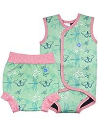 Splash About Mädchen Baby Wrap und passende Happy Nappy