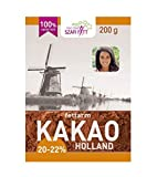 Kakaopulver, Kakao Pulver 200 g, 20-22%, Original aus Niederlande, stark entölt
