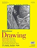 """Strathmore 300 Series Drawing Pad, Medium Surface, 11""""x14"""" Wire Bound, 25 Sheets"""