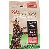 Applaws Katzentrockenfutter mit Hühnchen & Lachs, 1er Pack (1 x 400 g Packung)