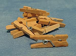 Dolls Houses - Accessories - D1266 - Set of 12 Clothes Pegs