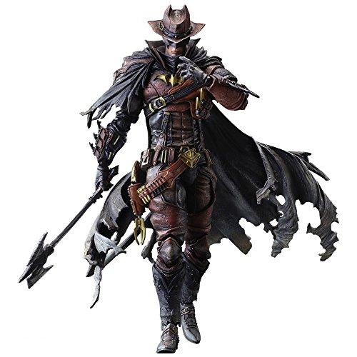 Square Enix DC Comics Variant Play Arts Kai Batman Timeless Wild West Action Figur (Batman The Dark Knight Kostüm Arkham Origins)