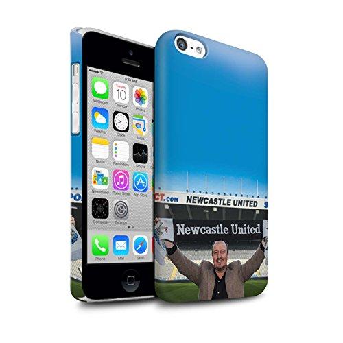Officiel Newcastle United FC Coque / Clipser Matte Etui pour Apple iPhone 5C / Pack 8pcs Design / NUFC Rafa Benítez Collection Bienvenue