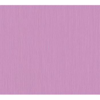 Vliestapete Violett Tapete Uni einfarbig modern