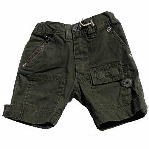 Diesel jeans shorts pour bébé vert kaki