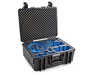 B & W Outdoor. cases type 6000avec DJI Mavic Fly More Combo et DJI Goggles Inlay–L'original