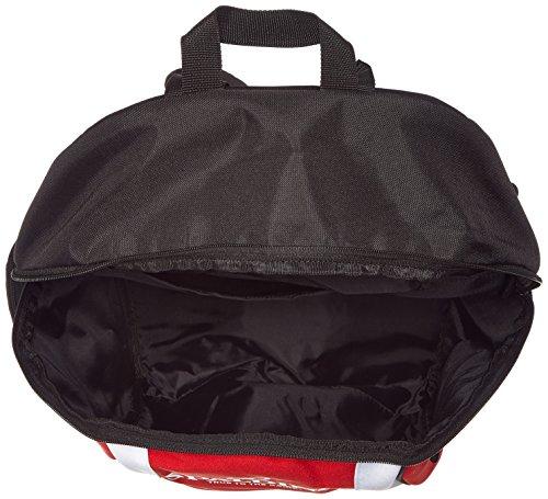 Spalding Tasche backpack rot/Schwarz/Weiß