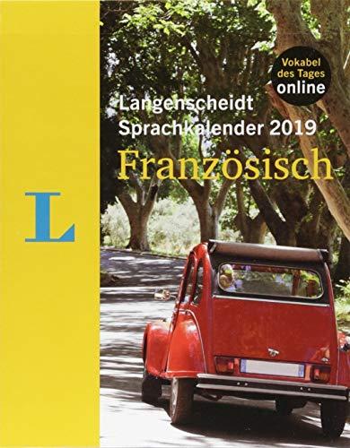 Langenscheidt Sprachkalender 2019 Französisch - Abreißkalender