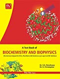 PV A TEXTBOOK OF BIOCHEMISTRY AND BIOPHYSICS (B.SC(N) (POST BASIC)FIRST YEAR STUDENTS
