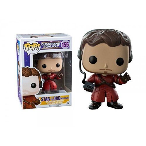 Funko POP! Marvel: Guardians Of The Galaxy - Star Lord (mix tape) Vinyl Figure 10cm limited