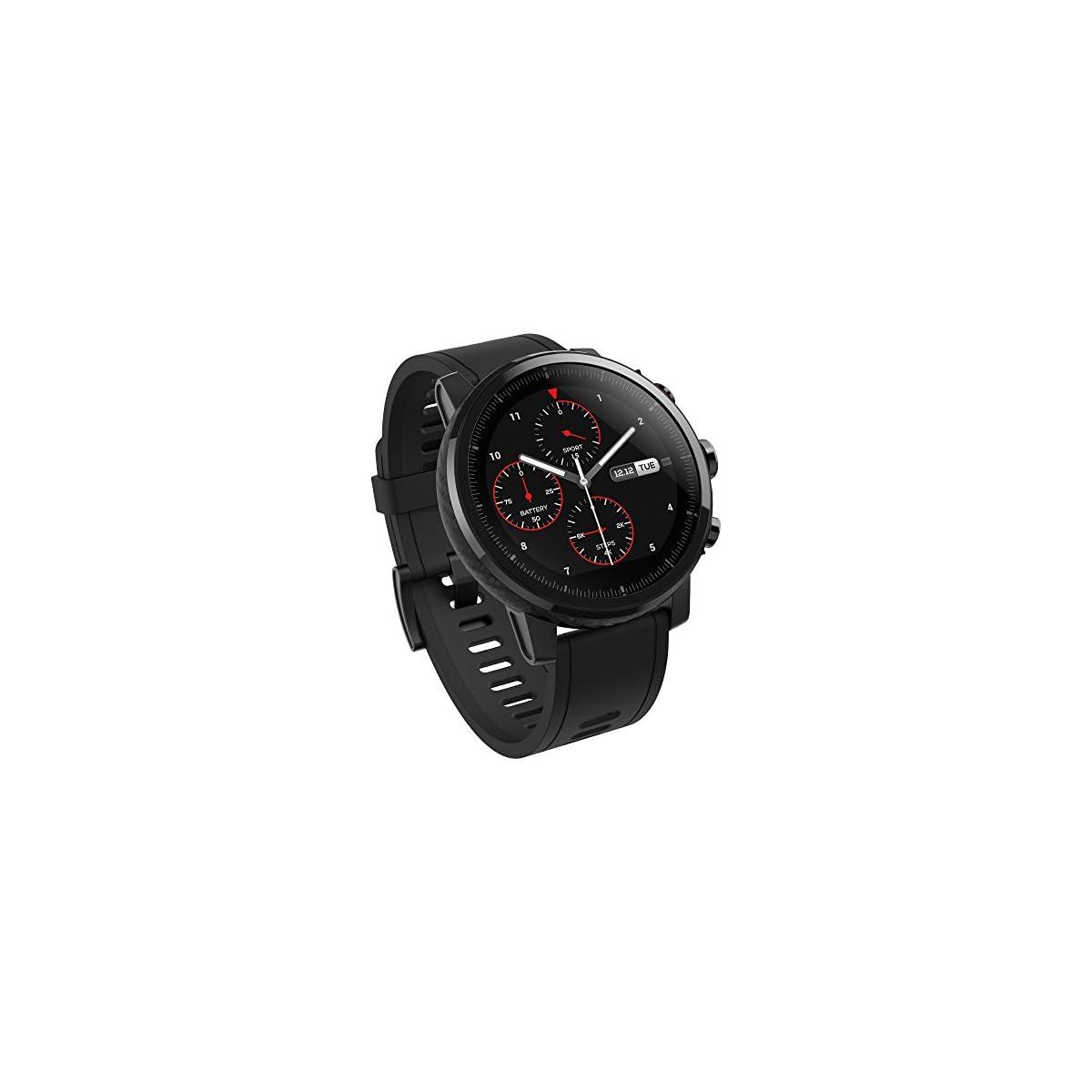 51Bz9Kyt1FL. SS1200  - Xiaomi Amazfit Stratos - Smartwatch con GPS y Sensor de frecuencia cardíaca (Resistente al Agua 5ATM) Color Negro