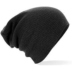 Beechfield Slouch Beanie One Size, Black