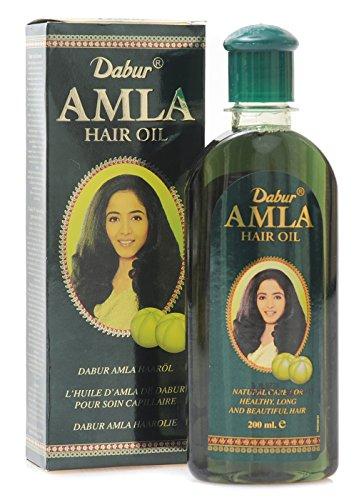 Dabur AMLA Haaröl natürlich Pflege für schönes Haar 200ml - Amla öl Haar