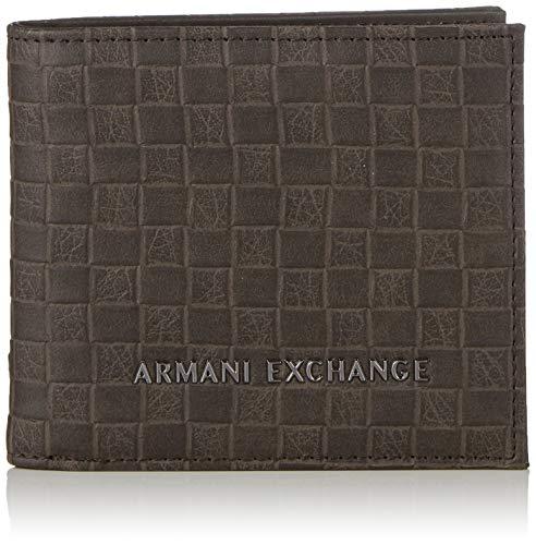 Armani ExchangeLogo Credit CardHombreCarterasMarrón