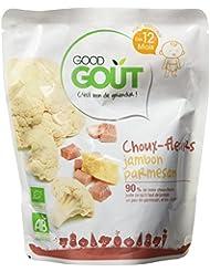 Good Goût Bio Choux Fleurs Jambon Parmesan dès 12 Mois 220 g