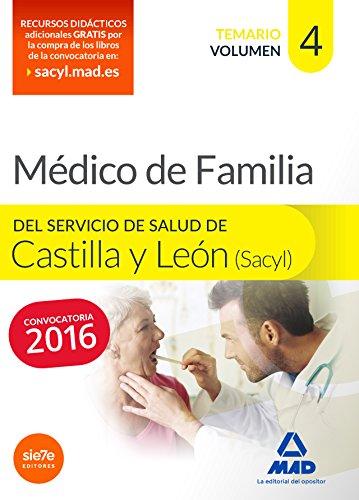Médico Especialista en Medicina Familiar y comunitaria del Servicio de Salud de Castilla y León (SACYL). Temario volumen IV