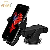 VISMIINTREND Quick ONE Touch CAR Mobile Holder 360° Rotation for iPhone/Samsung/VIVO/Moto/All Smartphones for Car Dashboard,Car Windshield,Desktop...3RD Generation Upgrade.!!!
