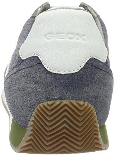 Geox Herren U Vinto A Low-Top Grau (Anthracite/dk Royalc9a4r)