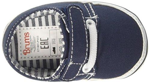 Brums  171bdlp003, Chaussures souple pour bébé (garçon) - bleu Blu (Blu 12)