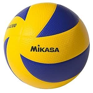 Mikasa Sports MVA200 Olympic Volleyball (Blue/Yellow)