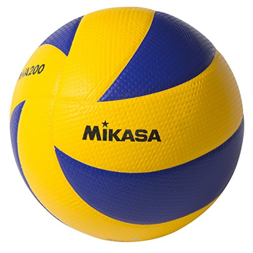 Mikasa MVA200 2008( Peking ), 2012(London) und 2016(Rio) Indoor Olympia-Spielball (Blau/Gelb )