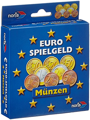 Noris 606521012 606521012-Euro Spielgeld Münzen