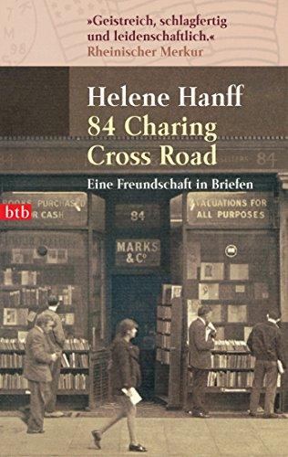 Buchseite und Rezensionen zu '84, Charing Cross Road: Eine Freundschaft in Briefen' von Helene Hanff