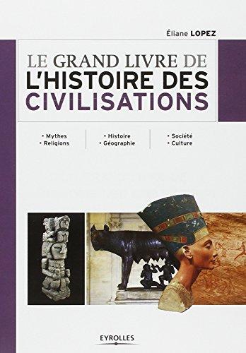 Le grand livre de l'histoire des civilisations. Mythes. Religions - Histoire. Géographie - Société. Culture.