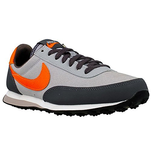 NIKE Baskets Elite Enfant Gris-Noir-Orange