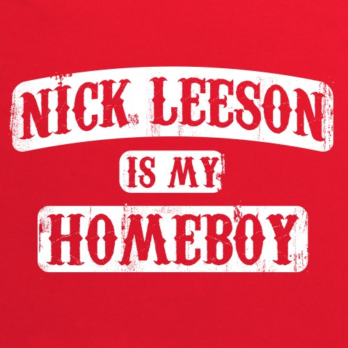 Square Mile Leeson T-Shirt, Herren Rot