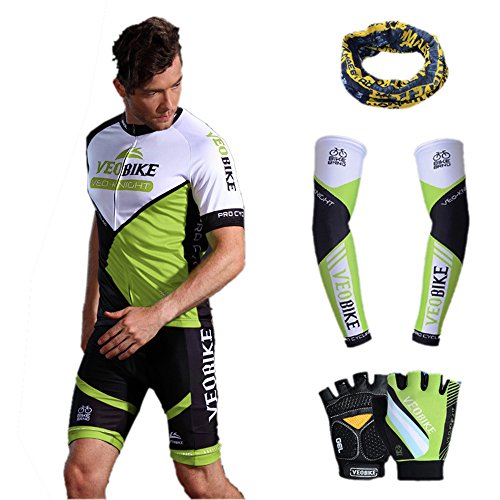 Asvert Ensemble de Cyclisme Maillot Pantalon...
