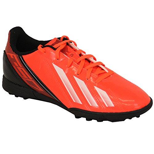Adidas - Chaussures Football Gazon et Indoor Enfants A Lacets et en Maille INFRAROUGE/NOIR/BLANC - ADG95025