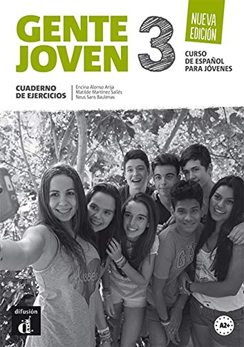 Gente joven 3. Nueva edición. Cuaderno de ejercicios (Nivel A2+): cuaderno de ejercicios + CD (Ele - Texto Español)