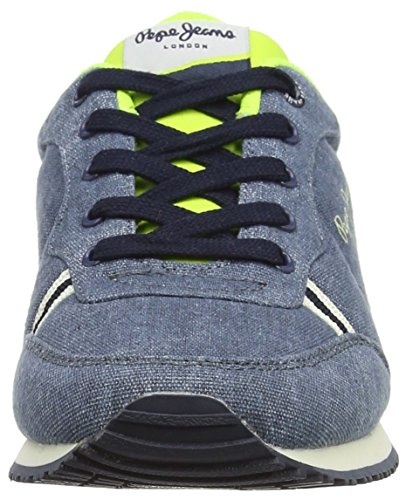 Pepe Jeans Jungen Sydney Canvas Sneakers Blau (572FORCES)