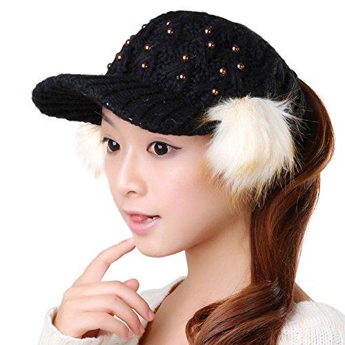 Cappello di lana donne coreane/ donna cappello caldo/Cappello lavorato a